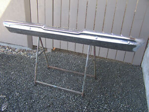 Mopar 1963 1965 Plymouth Rear Bumper 63 Fury Savoy 65 Belvedere Satellite