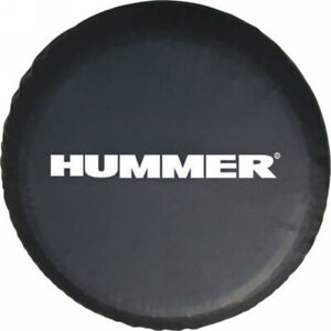 Spare Wheel Tire Cover Fit For Hummer Black Tire Cover