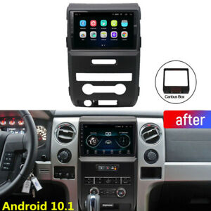 For 2009 2012 Ford F150 F 150 9 Android 10 1 Car Radio Gps Player Navigation Fm