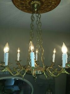 Antique French Empire Style Chandelier