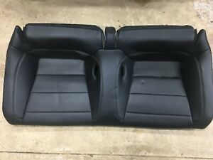 2015 Ford Mustang Gt Rear Seats Black Leather Great Condition