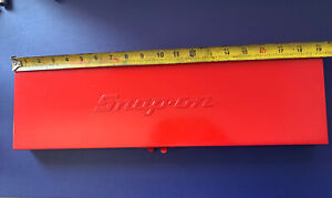 Snap On Vintage Red Tool Box Storage Socket Extensions Case 19 X 5 1 2