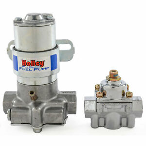 Holley 712 802 1 Blue Marine Max Pressure Electric Fuel Pump Pressure Regulato