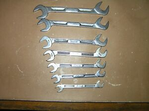 Snap On 4 Way Angle Head Wrench Set Sae 3 8 To 3 4 I beam Style Free Shipping