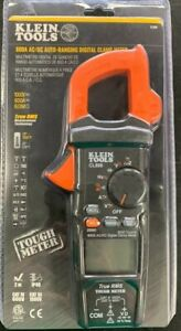 Klein Tools Cl800 Digital Ac Trms Low Impedance Auto range Clamp Meter Kit New