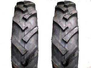 Two 5 00 15 Lrc 6pr Bkt Lug Tires For Ground Drive Machines Tractors