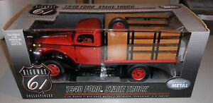 1940 Ford Stake Truck 1 16 Highway 61 Diecast New Never Out Of Box