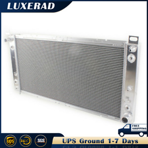 3 Row Aluminum Radiator For Cadillac Escalade Chevrolet Gmc 99 14 34 Core