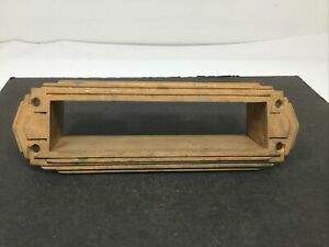 Vintage Antique Yale Brass Door Mail Slot Chute Letters Post Office Free Ship