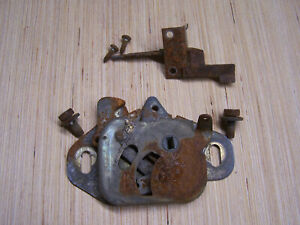 Mopar 1965 Satellite Hood Latch Assembly With Release Mechanism 65 Belvedere