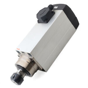 6000w Spindle Motor Er32 Air cooled 120mm 18000rpm High Speed Cnc Router Milling
