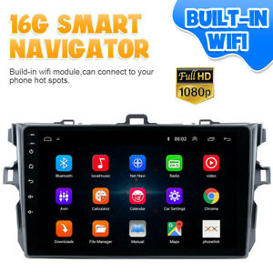 Gps Navigation Android 9 1 Car Stereo Radio Tp Wifi For Toyota Corolla 2006 2012