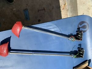 Vintage Twin Indian Head Fender Guides W Light Shipping 20 00