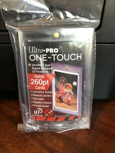 Ultra Pro One touch Thick Card 260pt Point Magnetic Card Holder