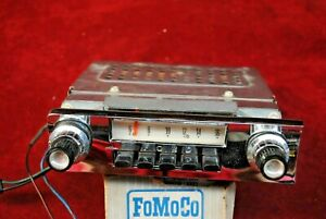 64 Ford Fairlane Am Radio Looks Real Nice And Plays Perfectly New Car Take Out