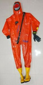 Drager R29322 Chemical Protective Suit Safety Suit Size Xl