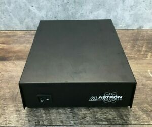 Astron Ss 10tk 7180 Switching Power Supply 13 8 Volt W ac Cord untested