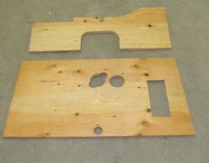 1929 1930 Chevrolet Floor Boards Made Off Of Nos Patterns