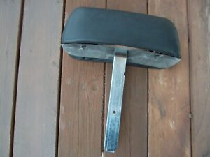 1969 Camaro Firebird Original Straight Shaft Black Headrest Date 9 4 68