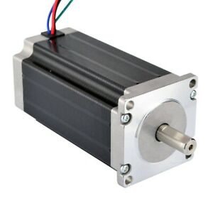 High Torque Nema 23 Cnc Stepper Motor 114 Mm 425oz in 3nm Cnc Milling Lathe S3j6