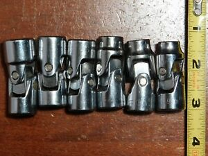 Husky Usa 3 8 Drive Swivel Metric Socket Set no Initials 6 9 15mm Euc