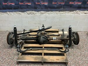 2014 Ford Mustang Gt Oem Rear End Axle Differential Diff 54k Manual Pp