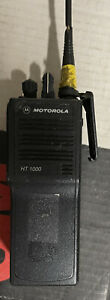 Used Motorola Ht1000 Two Way Radio Handheld With Battery Antenna H01sdc9aa3dn