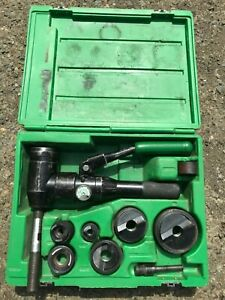 Greenlee 7804s Quick Draw Hydraulic Punch Driver