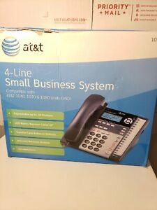 At t 4 line Small Business System Model 1070 open Box O413