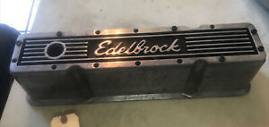 Single Chevrolet Small Block Chevy Edelbrock Valve Cover