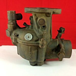Vtg Zenith Model 63 10709 39155 Updraft Carburetor Divco Truck 1948 1961 Carb
