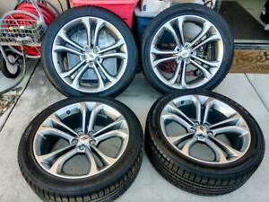 Dodge Charger Challenger 300s Oem 20 Inch Wheels Factory Alloy Rims Tires 20