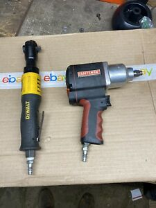 2 Air Tool Dewalt 3 8 in square Drive Air Ratchet Plus Craftsman 1 2 Air Hammer
