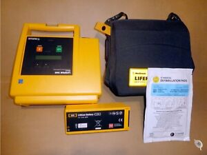 Lifepak 500 Aed With New Pads oem Battery Carry Case Medtronic