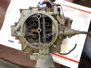 Rochester 4 Jet Carb 1957 Chevy 283 Power Pack core rebuilder B22