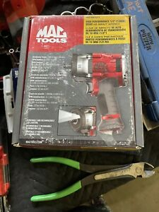 Mac Tools 1 2 Drive Air Impact Wrench With Led Work Light Mpf990501