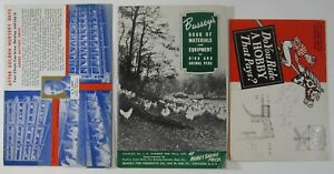 Vtg Poultry Equipment Advertising Catalogs Arndt Raising Chickens Egg Hens 1937