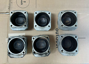 Porsche 911 964 3 6 Oem Set Of Early Mahle Pistons Cylinders Good Condition