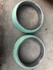1949 1950 1951 Ford Mercury Rat Rod Hot Rod Frenched Headlight Rings