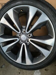 22 Range Rover Hse Autobiography Original Wheels New Continental Tires