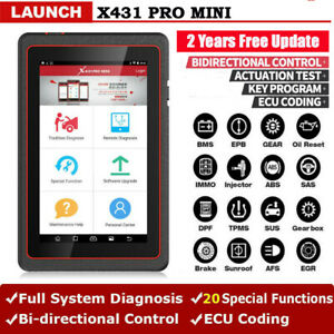 Launch X431 Pro Mini All System Bidirectional Diagnostic Tool Ecu Coding Abs Dpf