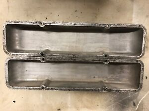 Vintage Cal Custom 40 2000small Block Chevy Aluminum Valve Covers