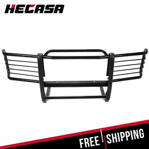 Fits 88 98 Chevrolet Gmc Silverado Sierra Black Front Grill Grille Brush Guards