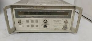Hp Agilent 5348a 10 Hz To 26 5 Ghz Microwave Counter Power Meter Make Offers