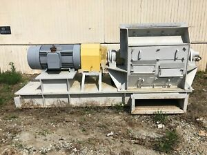 Williams Patent Crusher Pulverizer Co Meteor High Speed Hammer Mill