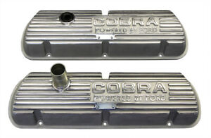 Shelby Gt350 Mustang Cobra 260 289 302 351w Open Letter Original Valve Covers