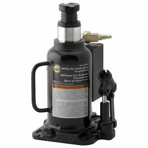 Omega 20 Ton Air Actuated Bottle Jack