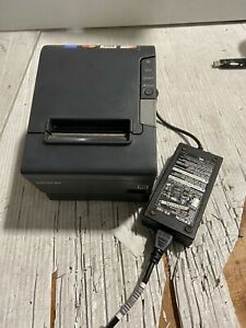Epson Network Thermal Receipt Printer Tm t88v Parallel Interface And Ac Adapter