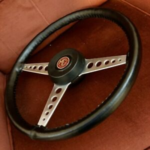 Mg Mgb 1970 Original Steering Wheel W New Leather Cover