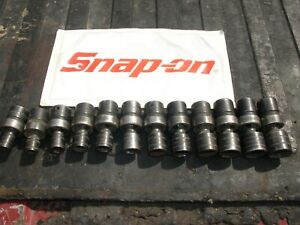 Snap On Impact Swivel Socket Set Metric